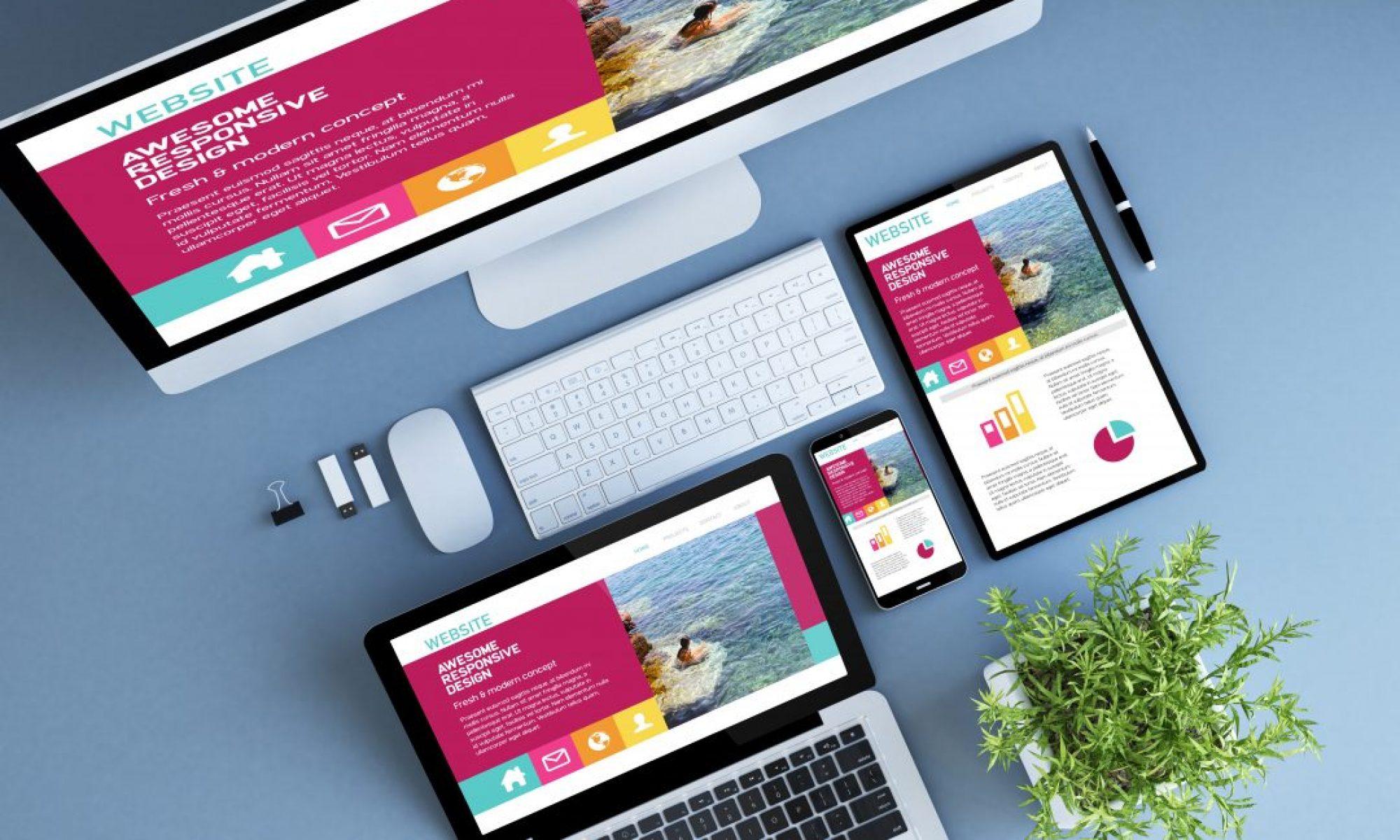 Спектр услуг при разработке сайта